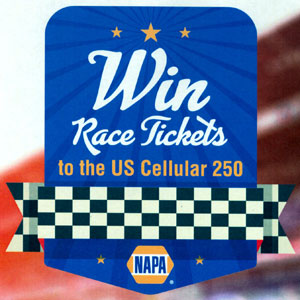 NAPA Race Tickets